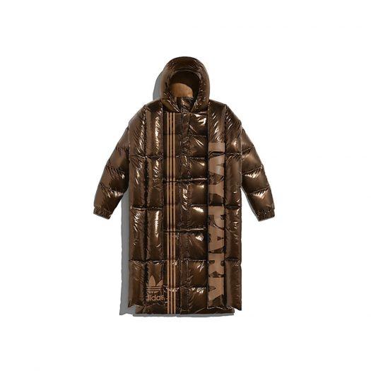 adidas Ivy Park Metallic Puffer Jacket (All Gender) Wild Brown