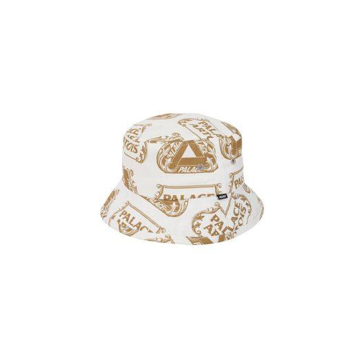 Palace Stella Artois Bucket Hat White/Gold