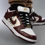 Nike SB Dunk Low Supreme Stars Barkroot Brown (2021)
