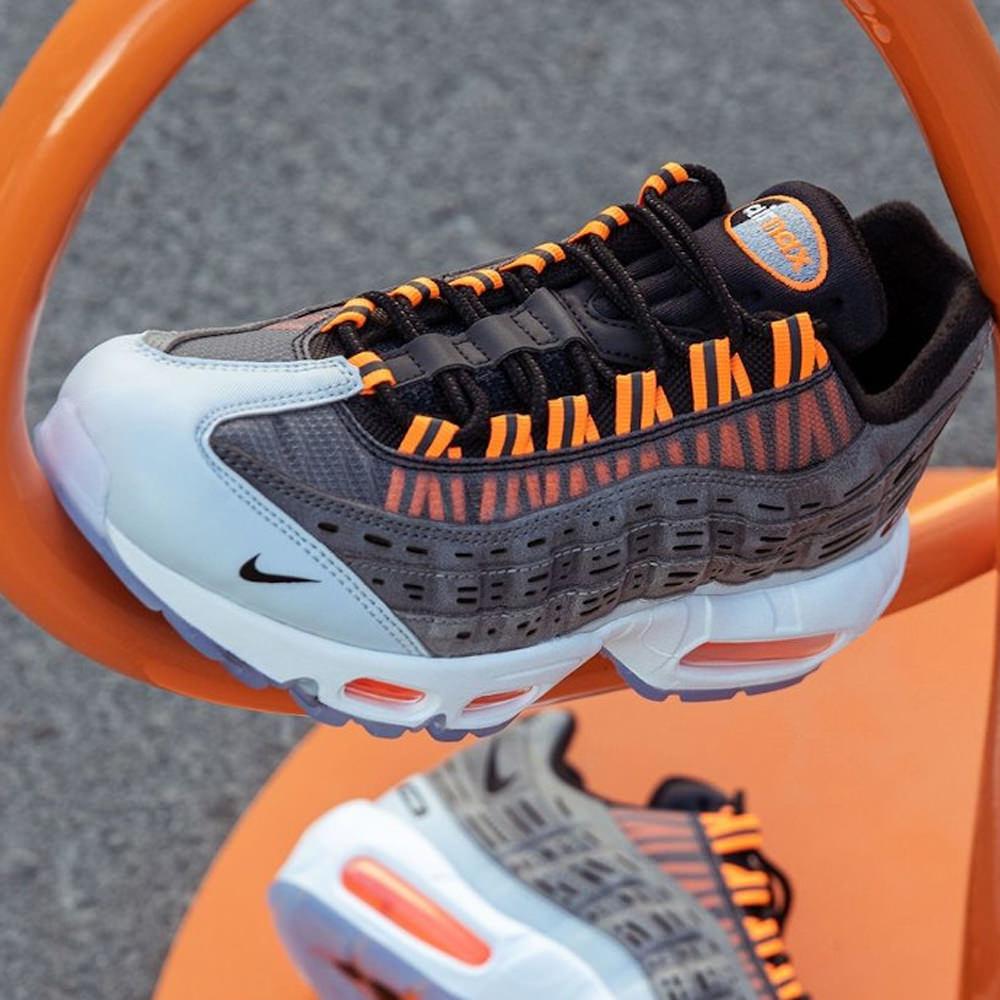 Nike Air Max 95 Kim Jones Black Total Orange