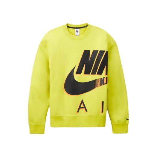 Nike x Kim Jones Fleece Crewneck Volt