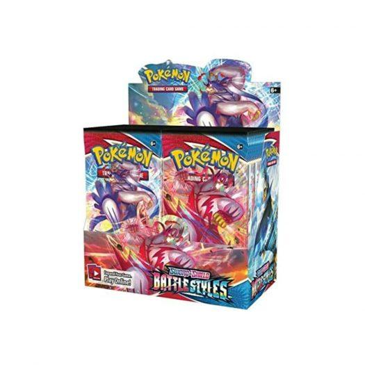2021 Pokemon TCG Sword & Shield Battle Styles Booster Box