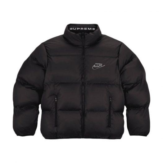 Supreme Nike Reversible Puffy Jacket Black