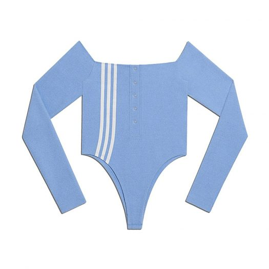 adidas Ivy Park Terry Bodysuit Light Blue