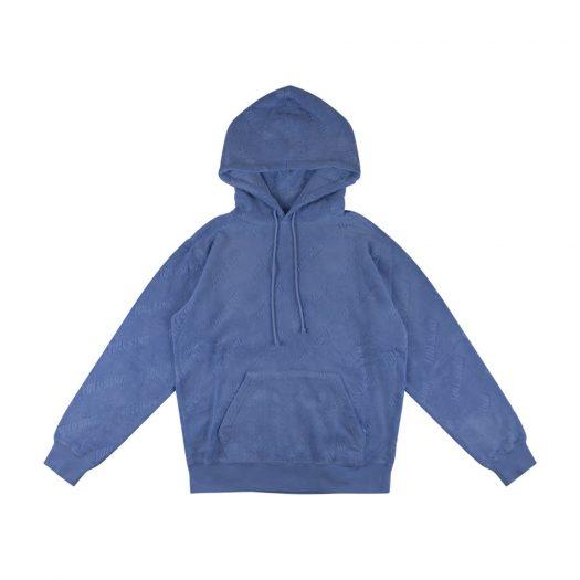 Full Send Jacquard Hoodie Blue