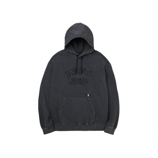 Neighborhood x Undefeated Hooded Sweatshirt Black