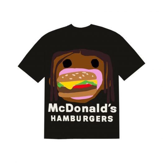 Travis Scott x CPFM 4 CJ Burger Mouth T-Shirt Black