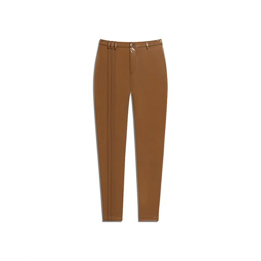 adidas Ivy Park Latex Pants (Plus Size) Wild Brown