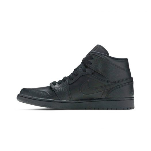 Jordan 1 Mid Triple Black