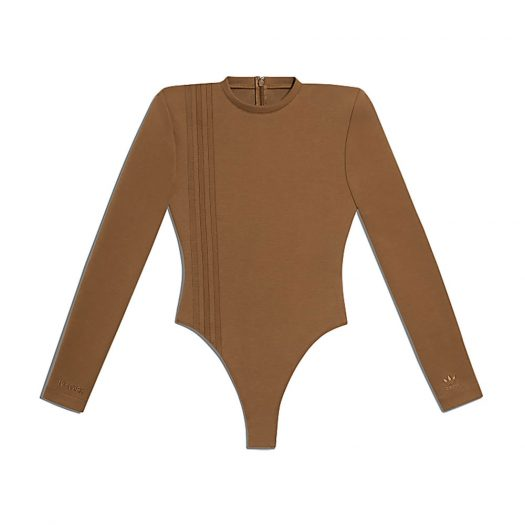 adidas Ivy Park 3-Stripes Bodysuit Wild Brown