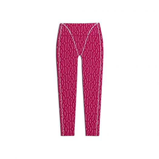 adidas Ivy Park Monogram Tights (Plus Size) Bold Pink