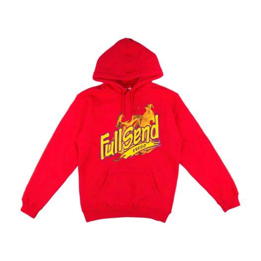 Full Send Fuego Hoodie Red