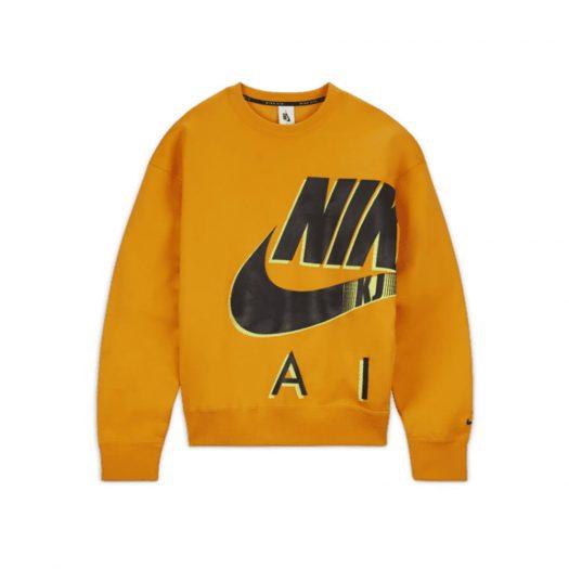 Nike x Kim Jones Fleece Crewneck Orange