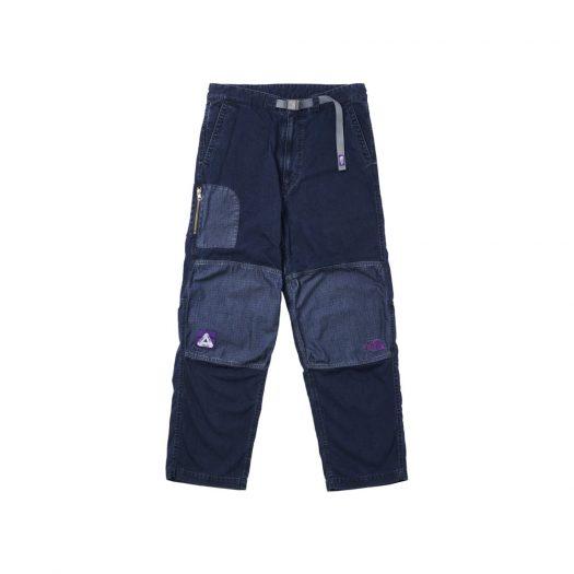 Palace x The North Face Purple Label Indigo Ripstop Mountain Wind Pants Indigo