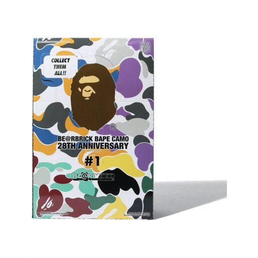 Bearbrick A Bathing Ape 28th Anniversary Camo #1 Box 100%