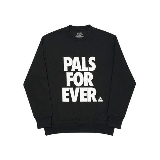 Palace Pals Crew Black