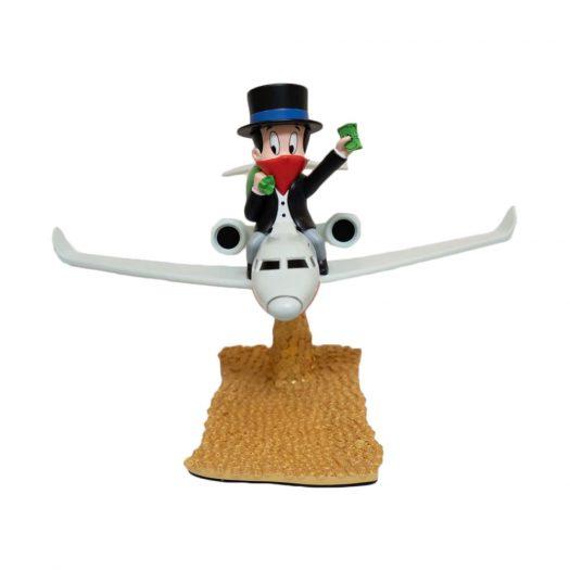 Alec Monopoly Rich Airways Figure