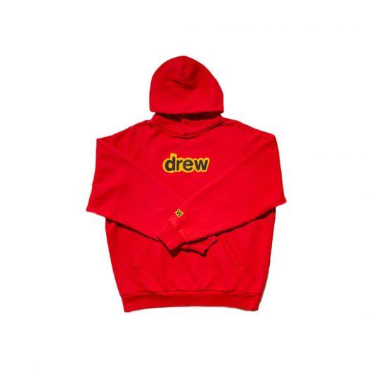 drew house secret hoodie red