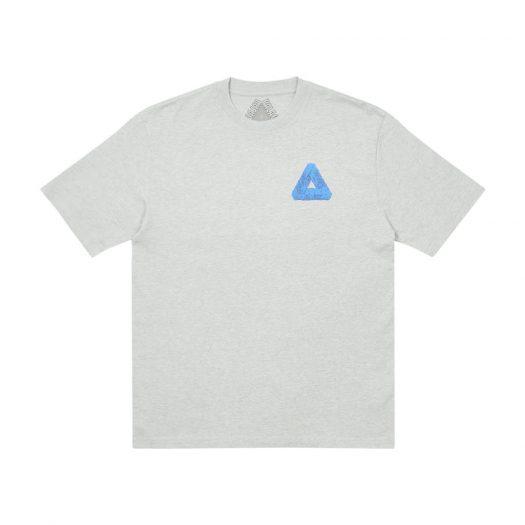 Palace Tri-Slime T-Shirt Grey Marl