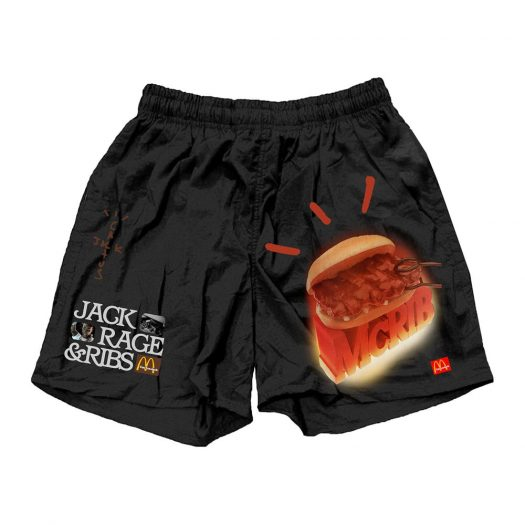 Travis Scott Mcrib Shorts Black