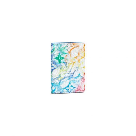 Louis Vuitton Pocket Organizer Pastel Multicolor in Canvas