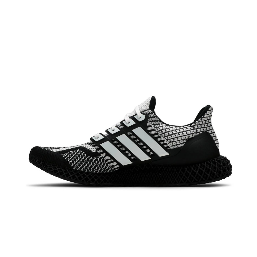 adidas Ultra 4D Core Black Cloud White