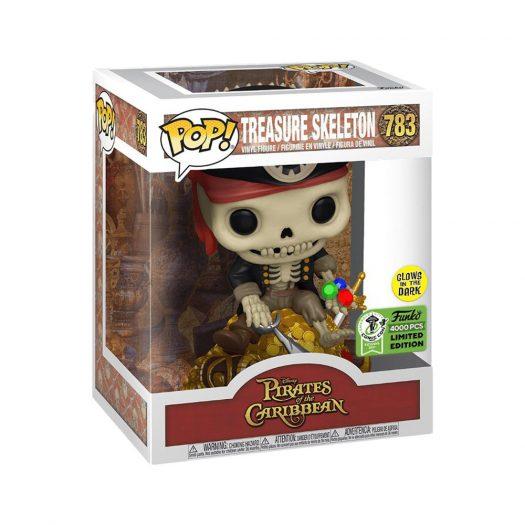 Funko Pop! Disney Pirates of the Caribbean Treasure Skeleton (Glow) ECCC Exclusive Figure #783
