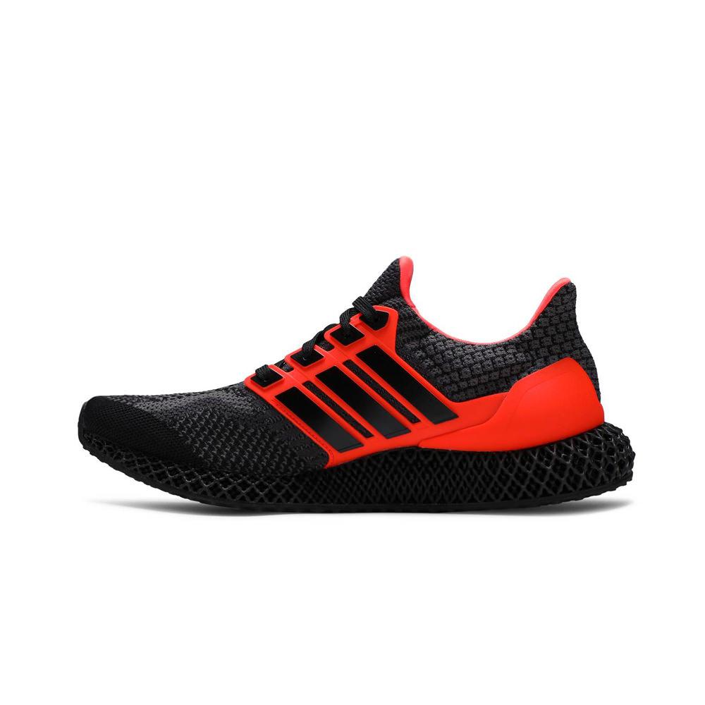 adidas Ultra 4D Core Black Solar Red