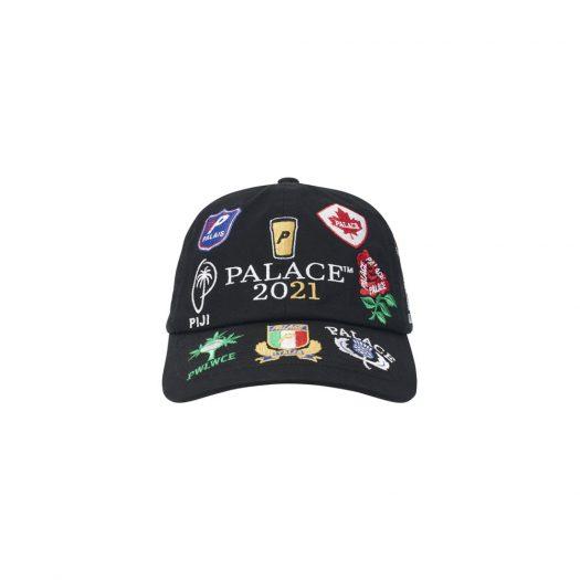 Palace Rugger Bugger 6-Panel Black