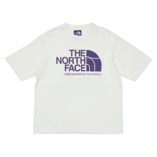 Palace x The North Face Purple Label H/S Logo T-Shirt White