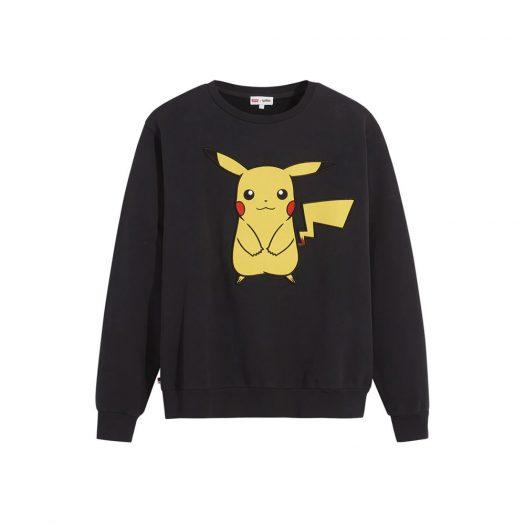 Levis x Pokémon Unisex Crewneck Sweatshirt Black