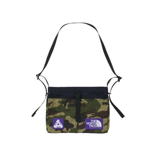 Palace x The North Face Purple Label Cordura Nylon Shoulder Bag Camouflage