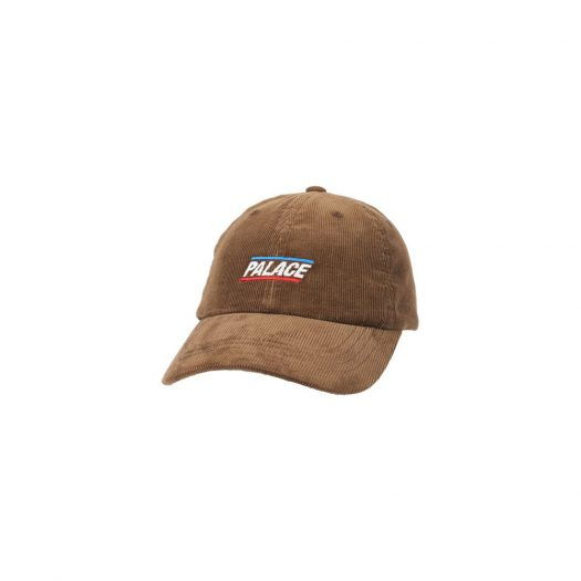 Palace Basically A Cord 6-Panel Brown
