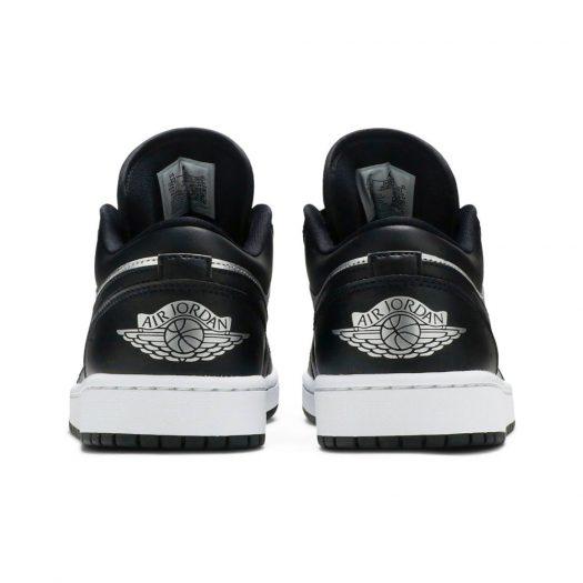 Jordan 1 Low SE Black Metallic Silver (W)