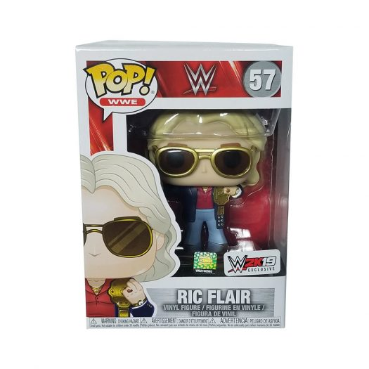 Funko Pop! WWE Ric Flair 2k19 Exclusive Figure #57