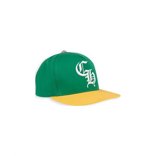 Chrome Hearts Baseball Cap Green/Yellow