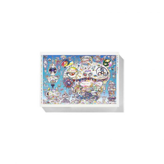 Takashi Murakami Kaikai & Kiki Jigsaw Puzzle Blue