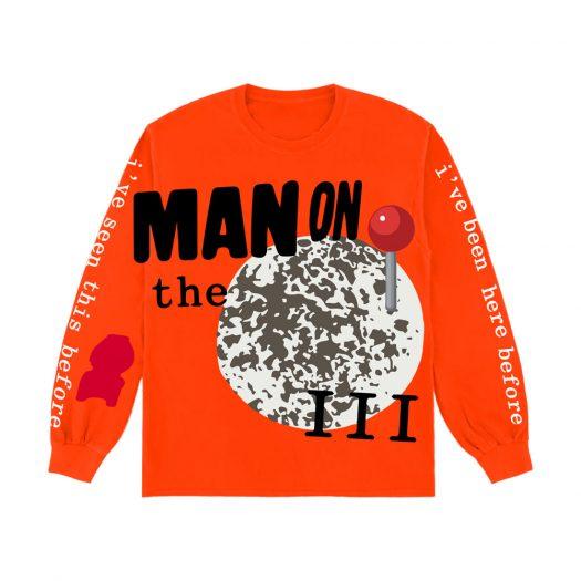Kid Cudi CPFM For MOTM III Return 2 Madness L/S T-Shirt Orange