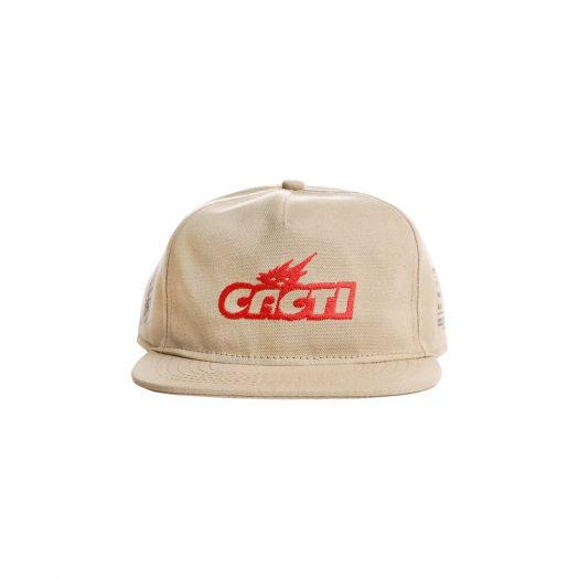 Travis Scott Cacti Canvas Hat Tan