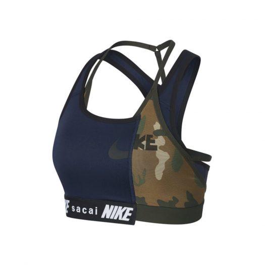 Nike x Sacai Sports Bra Navy/Khaki
