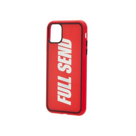 Full Send iPhone Case Red