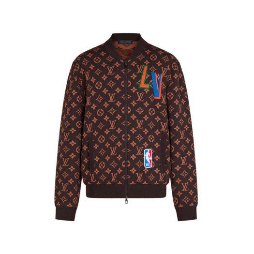 Louis Vuitton x NBA Graphic Blouson Brown
