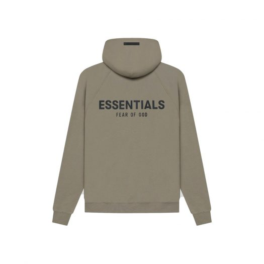 Fear Of God Essentials Pull-over Hoodie (Ss21) Taupe