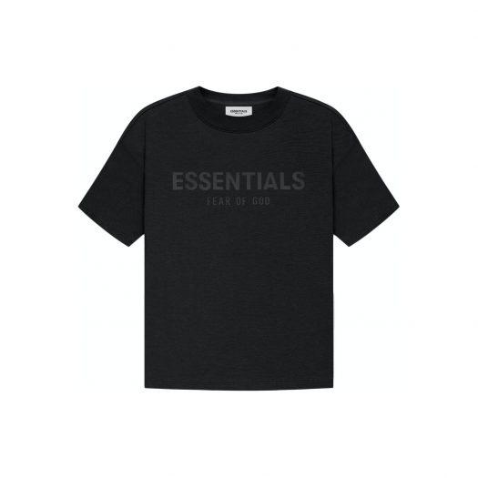 FEAR OF GOD ESSENTIALS Kids T-shirt Black/Stretch Limo