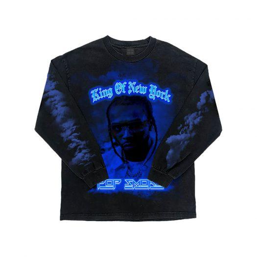 Pop Smoke King of New York Longsleeve Black