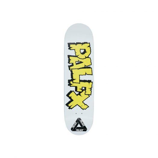Palace Nein FX 8.375 Skateboard Deck White