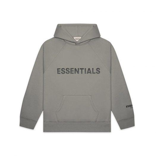 Pullover Hoodie Applique Logo Cement