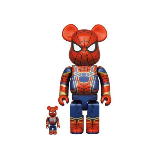Bearbrick Iron Spider 100% & 400% Set