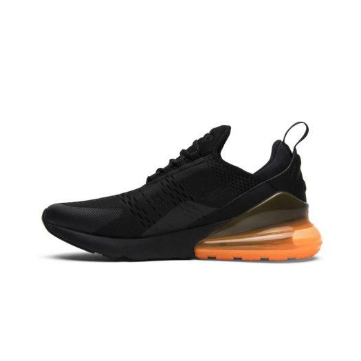 Nike Air Max 270 Black Total Orange