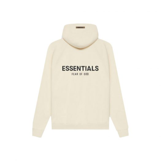Fear Of God Essentials Pull-over Hoodie (Ss21) Cream/buttercream